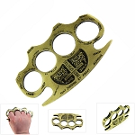Holy Spiritus Constantine Brass Knuckle Paper Weight
