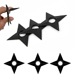 3 Pcs Rubber Training Naruto Shuriken 5