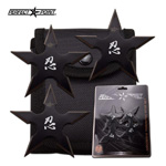 Ninja Shuriken 3-Piece Practice Throwing Stars Set
