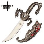 Fantasy Dragon Sword Letter Opener Knife Red Dragon