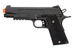 Full Metal 1911 Black Airsoft Training Pistol 210 FPS Gun