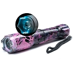 Katana Stun Gun FlashLight with Window Breaker Pink Camo