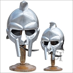 Gladiator Steel Functional Helmet With Stand
