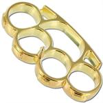 Iron Fist Knuckleduster Heavy Duty Gold Buckle & Paperweight