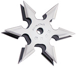 Six Points Ninja Throwing Star With Case