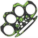 Life or Death Radioactive Splatter Knuckle Buckle