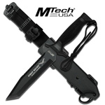 FIRST RECON MTech Tactical Rescue Knife With Custom Sheath