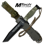 First Recon Black Tanto Blade Camo Handle Tactical Combat Knife 12