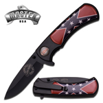 100% Rebel Born Free Die Free Spring Assist Knife