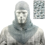 Battle Ready Medieval Chainmail Hood Coif Armor