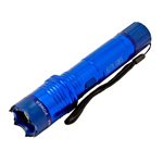 Tactical Elite Force Metal Stun Gun Rechargeable LED Flashlight - Blue
