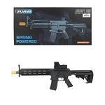 6mm BB BBs 200FPS M182B Spring Airsoft Rifle Gun w// FLASHLIGHT