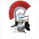 Imperial Itallic Roman Officer Helmet with Liner & Detachable Plume