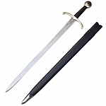 Medieval Archer Sword with Bent Cross-Guard