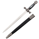 21 Inch Knights of St. John Diamond Guard Dagger Short Sword