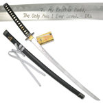 Budd's Sword Hattori Hanzo Collection Kill Bill Samurai