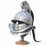 Spartacus Gladiator Helmet With Stand