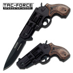 .38 Special Revolver Spring-Assisted Pocket Folding Knife