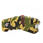 Camo Cyclone Rechargeable Stun Gun with LED Light and Alarm