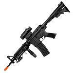 Full Auto M4 Rifle Electric Airsoft Gun D92h & laser