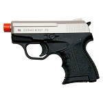 Zoraki M807 Satin Finish - 8MM Front Firing Blank Pistol Semi-Auto Gun