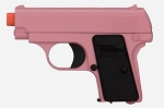 G1 Model Full Metal Spring Compact Airsoft Pistol Pink Handgun