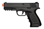 Spring Compact Metal Airsoft Training Pistol BLACK Shoot 234 FPS