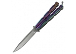 Titanium Unchained Balisong Butterfly Knife