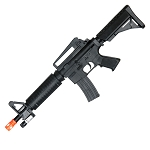 M-16C Airsoft Spring Rifle With Laser