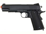 Double Eagle M291 Full Metal 1911 Tactical Rail Metal Spring Pistol Airsoft Gun