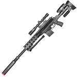 P2668 Tactical Spring Airsoft Sniper Rifle With Scope and Bipod