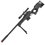 Airsoft Sniper Rifle L96 Gun MK13 MOD L96A1 Scope Bipod Bolt Action