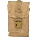 Tactical 1000D Nylon Safeguard MOLLE Mobile Phone Holster Tan