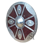Round Functional Viking Shield