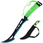 Renegade Zombie Killer Machete With Sheath