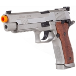 Sig Sauer P226 X-5 CO2 Full Metal Gas Blow Back Pistol Stainless Gun