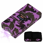 Pink Camo Monster 18 Million Volt Rechargeable Stun Gun - LED Light