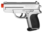CYMA ZM01S Full Metal Spring Airsoft Pistol Silver