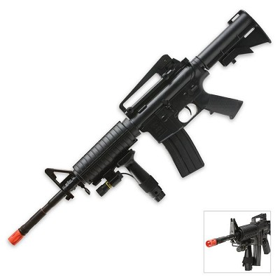 New 320 fps Spring Airsoft M4A1 Carbine Rifle With Laser