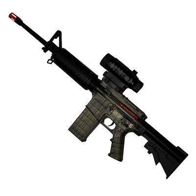 M4 Boys AEG Airsoft Rifle 160 FPS Electric Full Auto Smoky