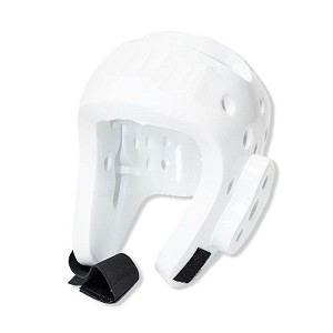 Martial Arts Protective Head Gear White - Sparring Karate Taekwondo Size X-Large