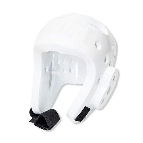 Martial Arts Protective Head Gear White - Sparring Karate Taekwondo Size Large