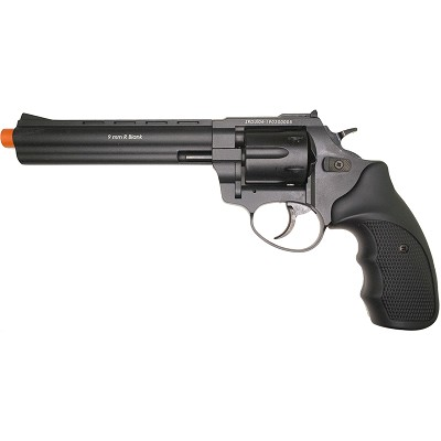 "Zoraki R1 6"" Barrel - Front Firing Blank Gun Revolver Black Finish"
