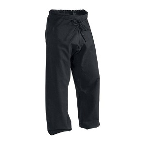 12 oz Heavy Weight Cotton Karate Pants Black Size 2