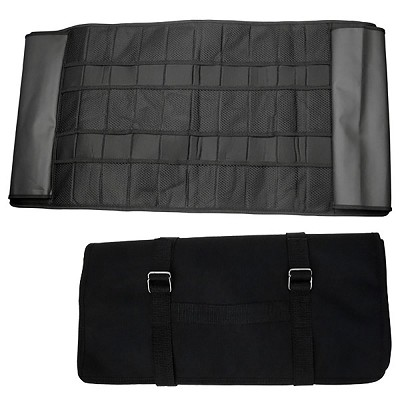 Knife Roll Up Pouch Storage Carry - Holds Up To 60 Knives