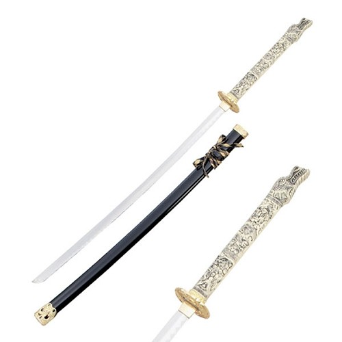 1st Generation Highlander Duncan Macleod Black Closed Mouth Dragon Sword