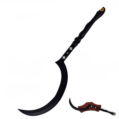 "40"" Egyptian Khopesh  Sickle Sword With Display Wall Plaque"