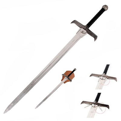 "49"" Highlander Two Handed Movie Replica Sword"