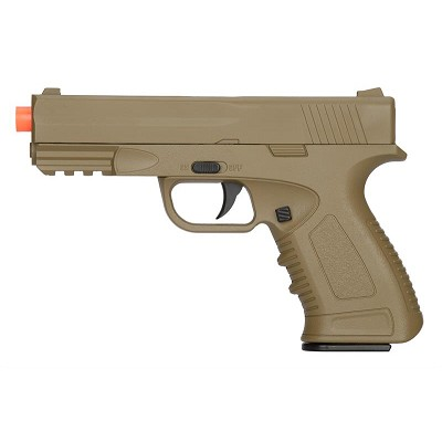 Spring Compact Metal Airsoft Training Pistol Dark Earth Shoot 234 FPS