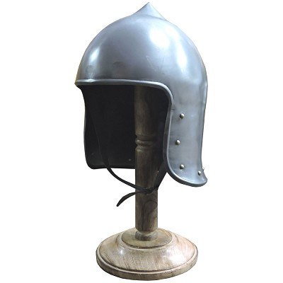Medieval Monarch Knight Crown Helmet Armor